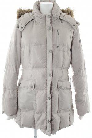 Frieda & Freddies New York Wintermantel hellbeige Casual-Look
