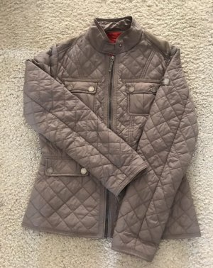 Frieda & Freddies New York Quilted Jacket grey brown