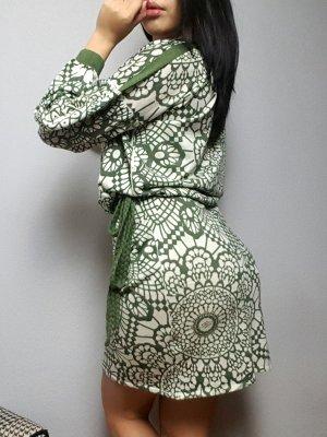 Friendly Hunting Luxus Cashmere Silk Kleid
