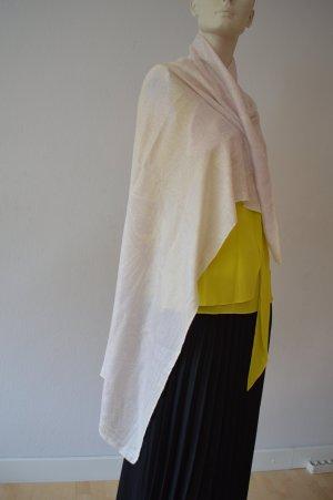 Friendly Hunting Silk Scarf natural white silk