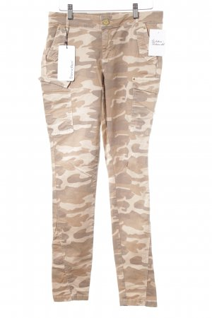 Friendtex Pantalón de camuflaje estampado de camuflaje estilo safari