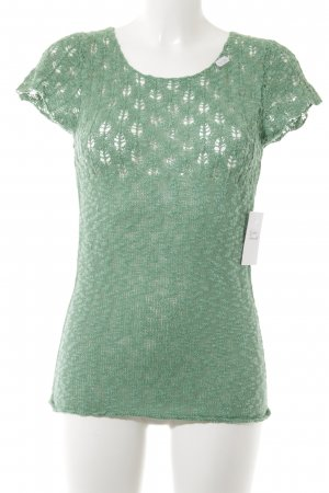 Friendtex Crochet Top grass green casual look