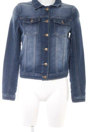 Friendtex Jerseyblazer dunkelblau Jeans-Optik