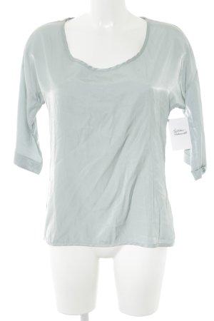 Friendtex Langarm-Bluse blassblau Casual-Look