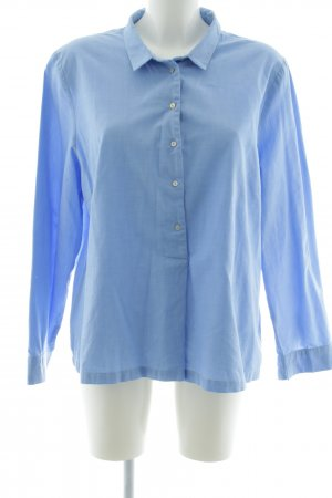 Friendtex Langarmhemd blau Business-Look