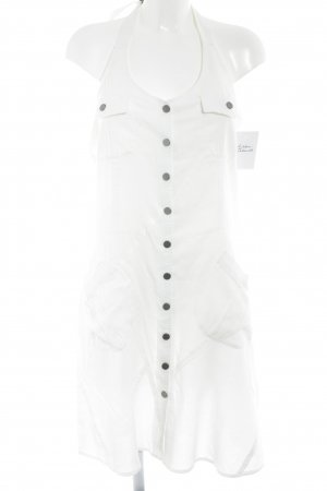 Friendtex Halter Dress natural white casual look