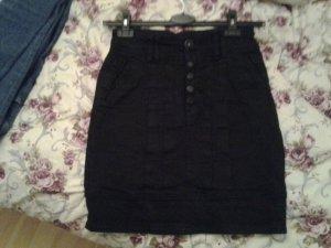 friendtex rock aus Jeans in schwarz xs