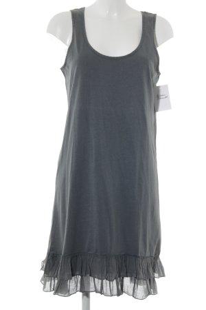 Friendtex Schößchenkleid graublau Casual-Look