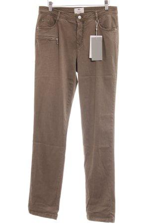 Friendtex Jeans slim kaki style décontracté