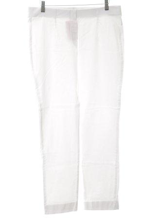 Friendtex Pantalon strech blanc style décontracté
