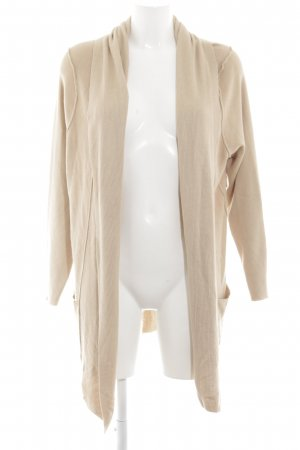 Friendtex Strick Cardigan nude Casual-Look