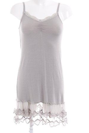 Friendtex Fond de robe gris clair style romantique