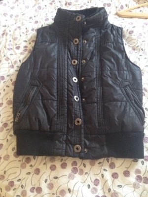 Friendtex Quilted Gilet black