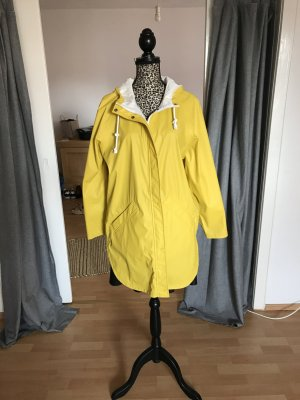 edc by Esprit Raincoat yellow-white