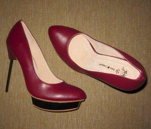 Friis & Company ELISOT High Heel Pumps bordeaux