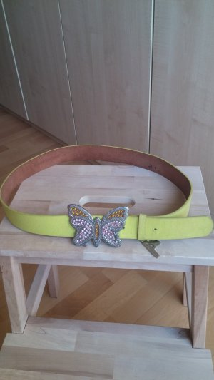 Friis & Company Belt yellow
