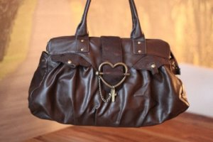 Friis & Company Carry Bag gold-colored-brown leather