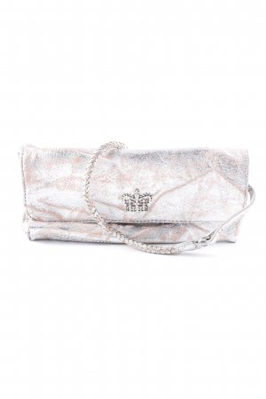 Friis & Company Carry Bag silver-colored-pink distressed style