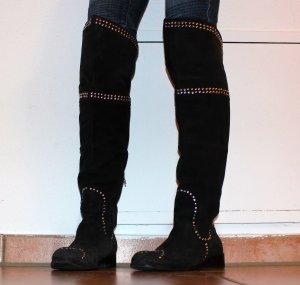 Friis & Company Overknee Stiefel mit Nieten, Gr. 37