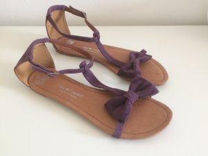 Friis&Company Sandalen neu 40 lila Schleife Sommer