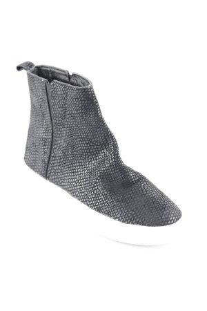 Friis & Company Schlüpfsneaker weiß-schwarz Animalmuster Casual-Look