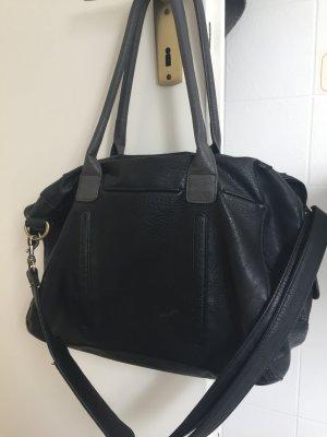 Friis & Company. Schwarze Handtasche