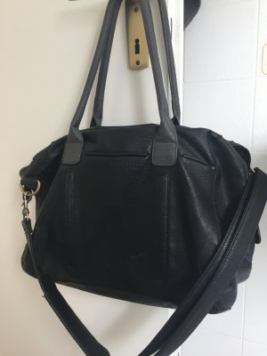 Friis & Company, schwarze Handtasche