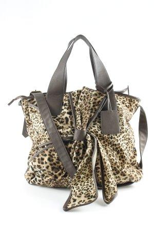 Friis & Company Shopper animal pattern casual look