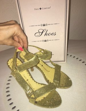 Friis & Company Sandalo con cinturino oro