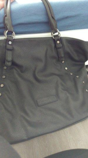 Fritzi aus preußen Shopper black imitation leather