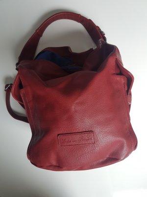 Fritzi aus preußen Pouch Bag dark red-carmine imitation leather