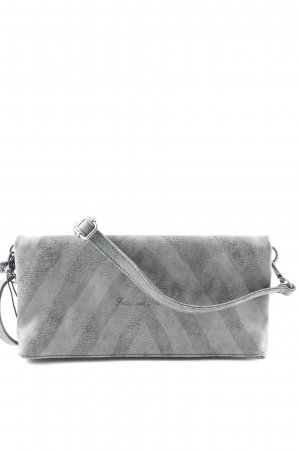 Fritzi aus preußen Clutch grey brown-dark grey graphic pattern casual look