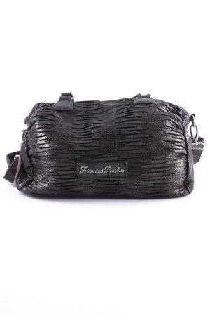Fritzi aus preußen Handtasche schwarz Glanz-Optik