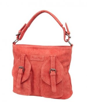 Fritzi aus Preußen Hobo Bag in Lederoptik Rot