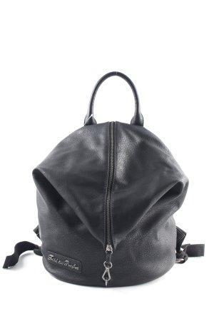 Fritzi aus preußen Mini sac à dos noir style extravagant