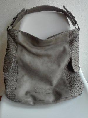 Fritzi aus preußen Borsa shopper grigio chiaro-grigio