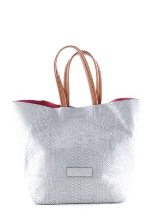 Fritzi aus preußen Shopper graublau-magenta Casual-Look