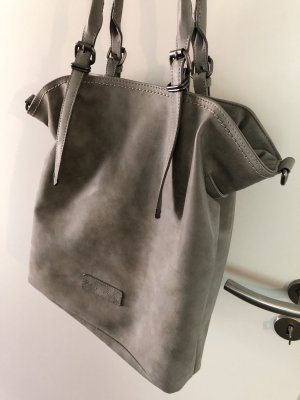 Fritzi aus preußen Shopper light grey-grey