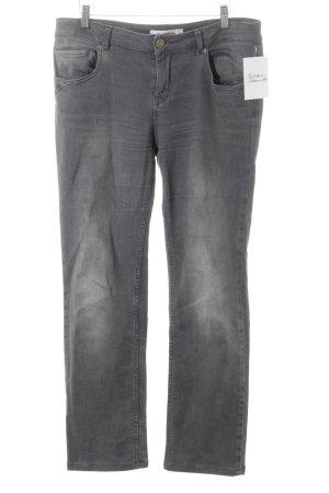 Fritzi aus preußen Slim Jeans grau Street-Fashion-Look
