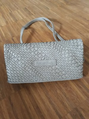 Fritzi aus preußen Crossbody bag silver-colored synthetic material