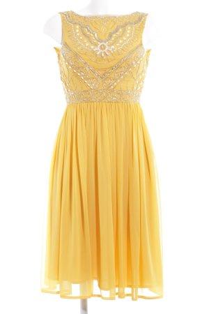 Frock and Frill Vestido de baile amarillo elegante