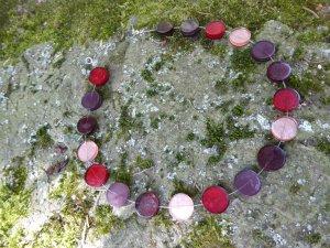 Collana multicolore Materiale sintetico