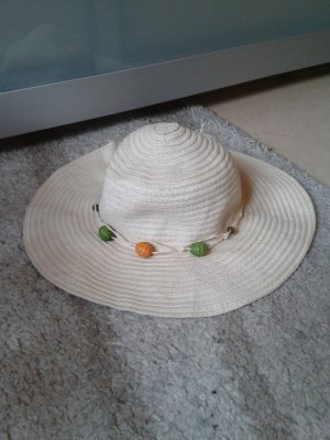 Cappello a falde larghe multicolore