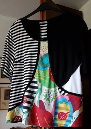 ppep Oversized shirt wit-zwart