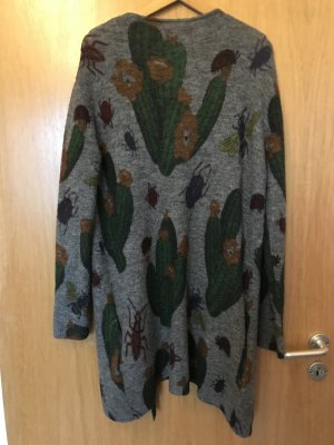 Frogbox Knitted Coat dark grey