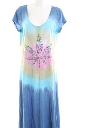 Frogbox Maxi-jurk prints met een thema casual uitstraling