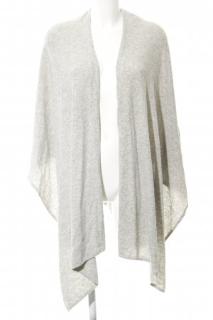 Frogbox Knitted Scarf light grey casual look