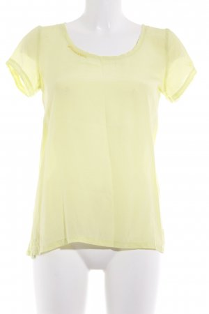 Frogbox T-Shirt neongelb Casual-Look