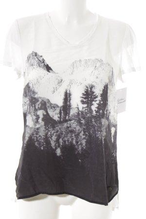 Frogbox T-Shirt weiß Motivdruck sportlicher Stil