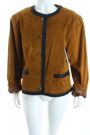 Front Line Traditional Jacket ocher-black country style
